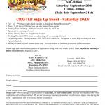 Be a Crafter at Boyertown's Oktoberfest, Fri Sept. 19th + Sat. Sept 20th