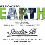 Down to eARTh (Eco-Exhibit) on view through June 13th