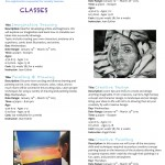 Studio B Winter 2015 Classes+Workshops announced