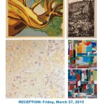"Opening Reception, March 27, 5-8pm ""Personal Geographies"""