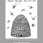 "Opening Reception, Friday, February 19th, 5-8pm ""To Be: Know Thyself…You Do You"", the Third Annual Exhibit and Book Release Combining Literary and Visual Art"