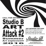 Art Attack #2 — New Artist Opportunity Posted