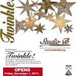"""""""Twinkle!"""" 10th Annual Member and Friend Exhibition continues through January 14, 2018!"""